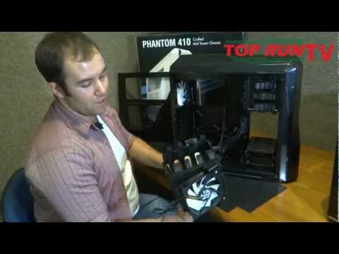 Hands-on - Gabinete gamer - NZXT Phantom 410