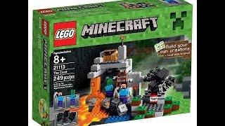 MINECRAFT LEGOS LA SUPER CUEVA!