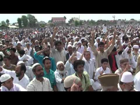 Nimaaz Eid & Speech at Eidgah Srinagar
