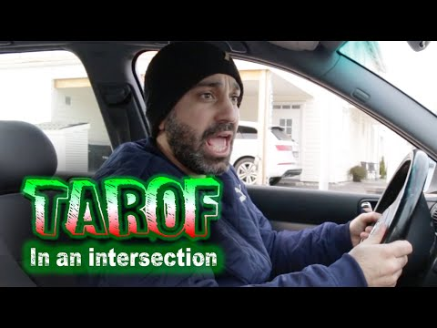 Tarof in an intersection