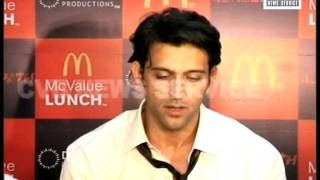 HRITHIK ROSHAN TIES UP WITH MCDONALDS FOR AGNEEPATH'S PROMOTION