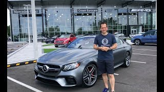 The 2018 Mercedes Benz E63 S AMG is a CRUISE MISSLE with CLASS! - Raiti's Rides