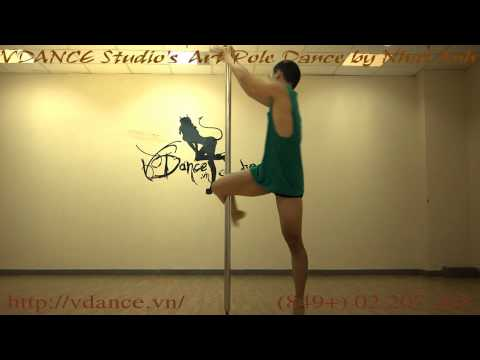 VDANCE Art Pole Dance by Nhat Anh