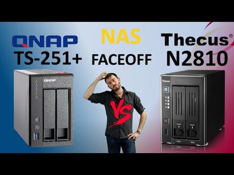 The QNAP TS-251+ Versus The Thecus N2810 Intel CPU NAS Comparison - Compare Brand VS Brand