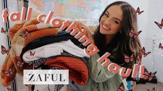 fall try-on clothing haul 2019–ZAFUL :)