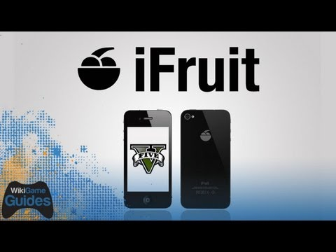 Grand Theft Auto 5 - iFruit App - First Look iPhone iPad iOS GTA5