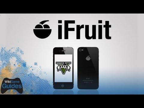 Grand Theft Auto 5 - iFruit App - First Look iPhone iPad iOS GTA5
