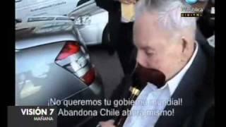 Visión Siete: Escrache a Rockefeller en Chile