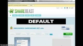 Cara download lewat sharebeast