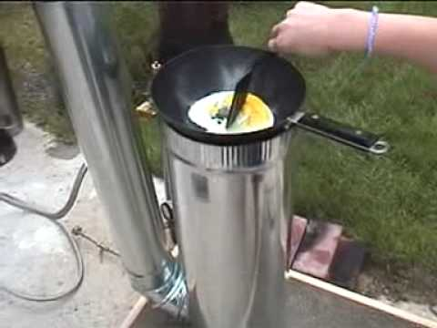 Lynx Steam Rocket Stove Cooking Youtube