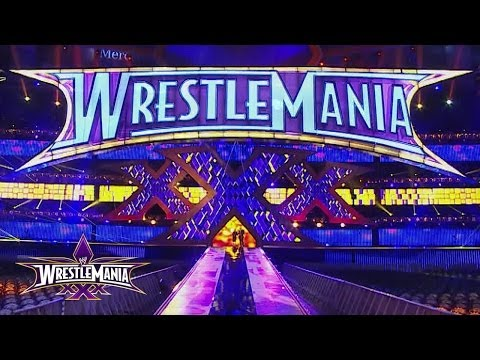 Sneak Peek: Wrestlemania 30 Set Reveal video