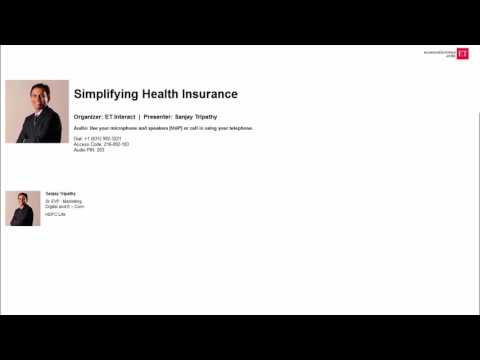 Simplifying Health Insurance