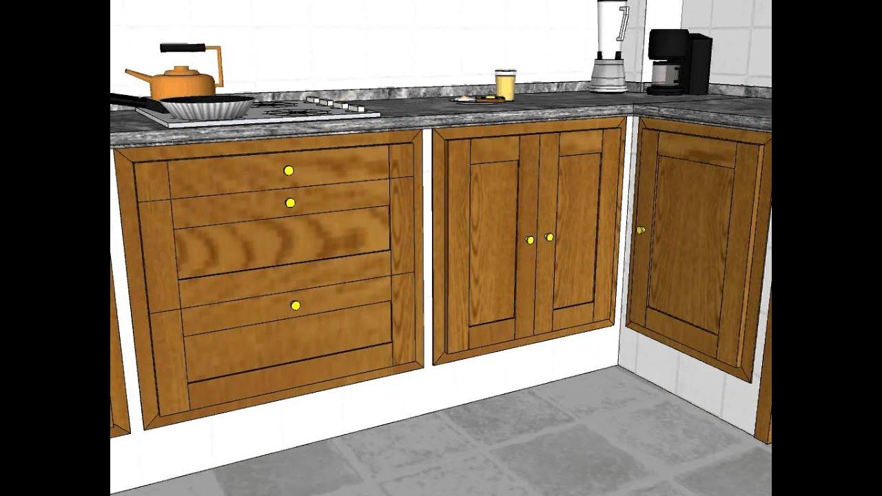 Carpinteria de madera santa clara cocina 3 lados youtube - Carpinteria santa clara ...
