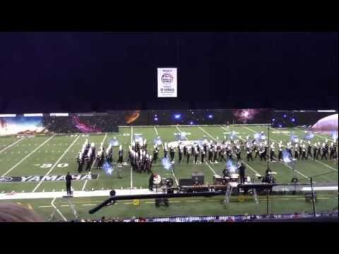 Nation Ford High School Marching Band 11-09-2012