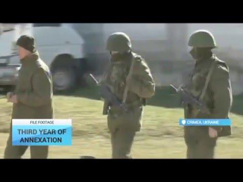 Third Year of Annexation: Russia's annexation of Ukraine's Crimea enters third year