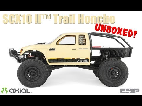 Axial AX90059 SCX10II Trail Honcho UNBOXED!   CWC