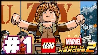 LEGO Marvel Superheroes 2 - GWENPOOL LEVEL 1 - PICNIC- 100% Complete