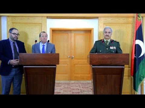 Libya: UN special envoy meets with General Khalifa Haftar