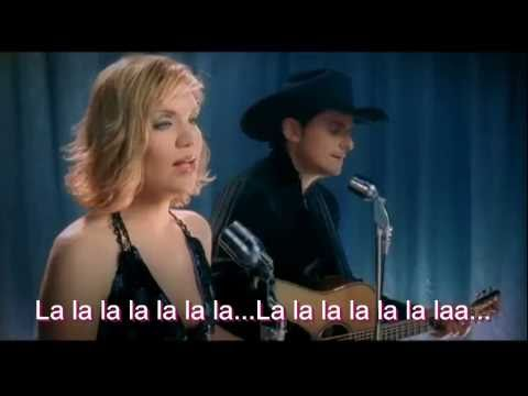 Brad Paisley - Whisky Lullaby- Karaoke (hd) video