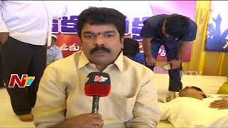 TDP MLA Bonda Uma Face To Face | Bonda Uma Supports CM Ramesh Hunger Strike For Kadapa Steel Plant