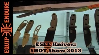 ESEE Knives SHOT Show 2013 Booth Review