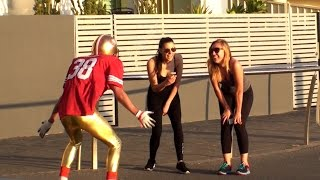 Jarryd Hayne Plays Football in Public