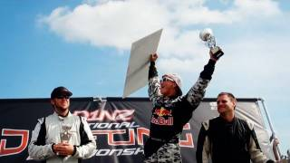 Mad Mike Wins D1NZ Round 1 - Red Bull RX7 - Manfeild Raceway 2011