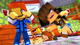 Minecraft Daycare - CAFETERIA FIGHT !?