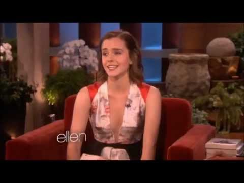 Emma Watson on The Ellen DeGeneres Show 2012