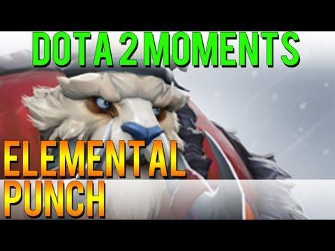 Dota 2 Moments - Elemental Punch