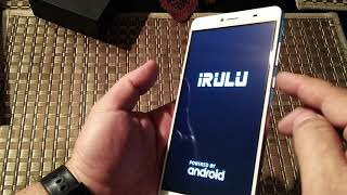 Unboxing iRulu Geoking 3 Max G3 6.5 inches display Phablet. Same as Doogee Y6 Max