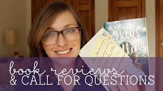 Book Reviews & Call for Q&A Questions
