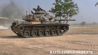 NEW M60A3 IN ACTION