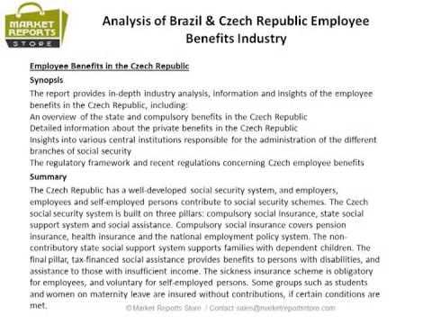 Brazil & Czech Republic Employee Benefits Market Growth Prospects