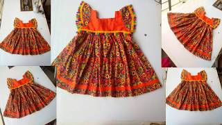 Baby frock cutting & stitching in Urdu/Hindi (step by step)