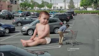 Giant Baby ? - Baby Gangnam Style New Commercial