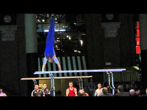Chris Brooks - Parallel Bars - 2012 Winter Cup Prelims 16.0!