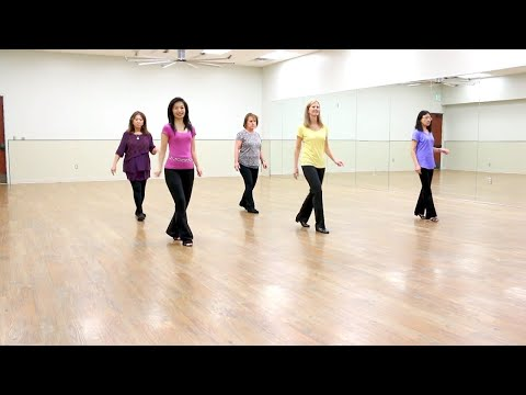 Whiskey Glasses - Line Dance (Dance & Teach In English & 中文)