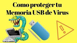 ✅Como proteger tu memoria usb de virus