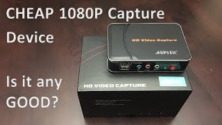 AGPtek HD Video Capture/EZCap 280 Unboxing and First Impression