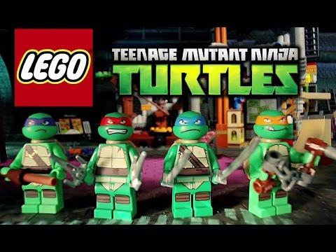 LEGO Ninja Turtles: Shell Shocked | Gameplay 2017