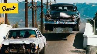 Top 10 Greatest Movie Car Chases from the 80's | Donut Media