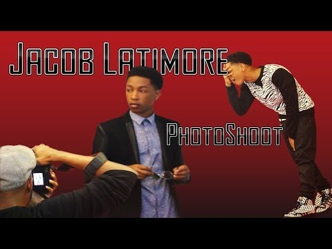 Jacob Latimore - Photoshoot (behind The Scenes) video