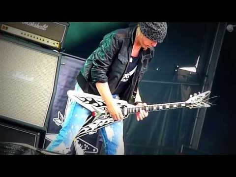 Michael Schenker Group ROcK BOttOM GuiTaR JaM SwedenRockFestival 2010