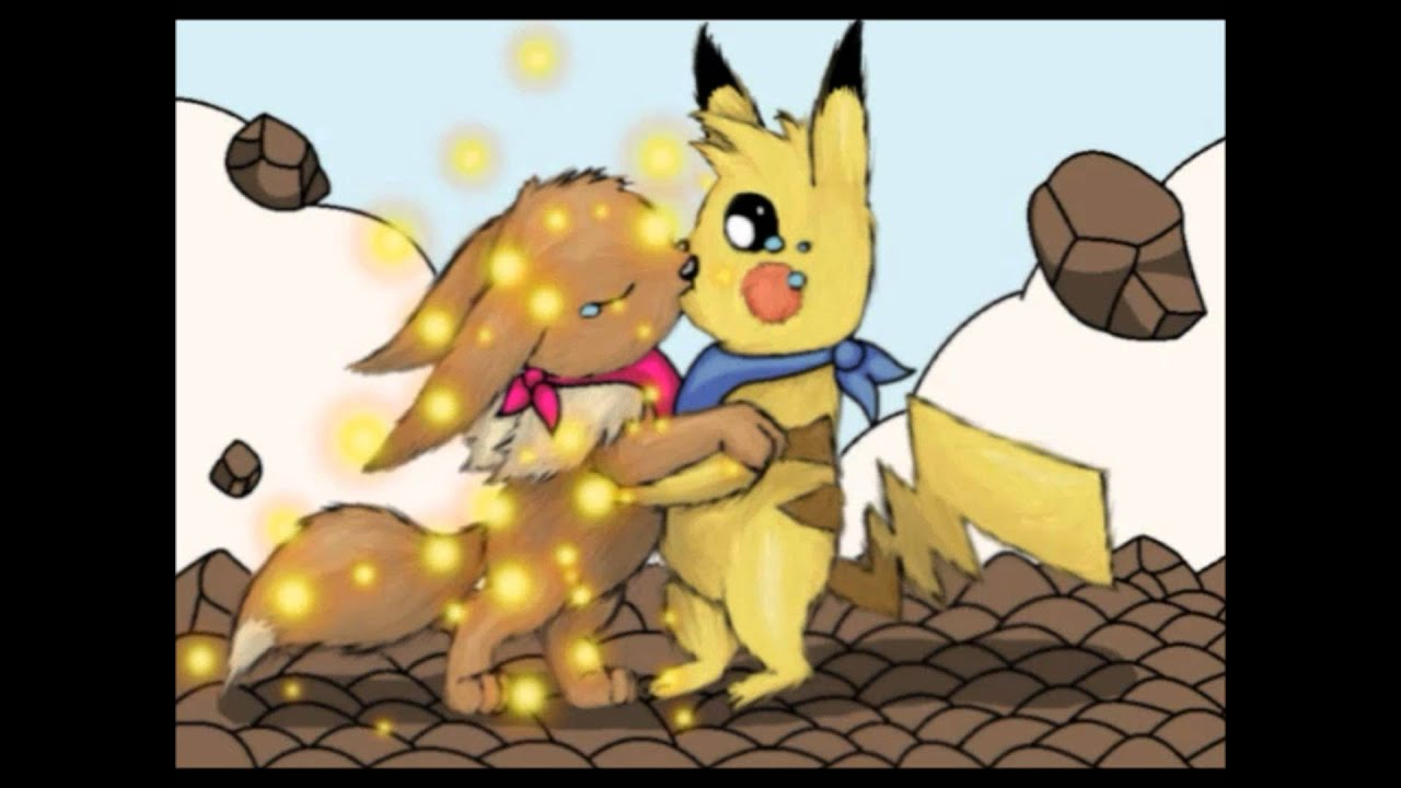 Eevee And Pikachu Tribute