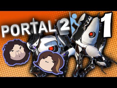 Portal 2: Expanding the Brain - PART 1 - Game Grumps