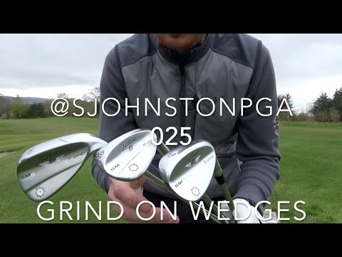 Which grind to choose on your wedges wedge grind and bounce Titleist Vokey SM6
