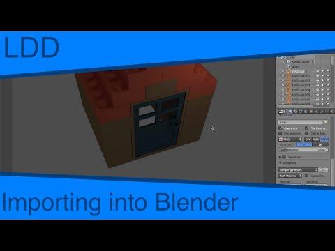 LDD - Importing into Blender