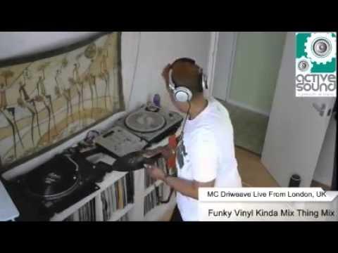 MC Driweave - Softer Funky Vinyl Set @ Active Sound Radio 24/04/2016