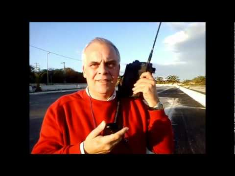 Handy radio DX QRP, QRB 6200 KM Italia-India